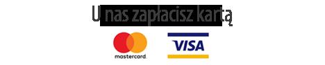 Akceptujemy płatności kartą VISA i Mastercard